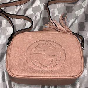 NEW Blush pink GG disco soho crossbody bag